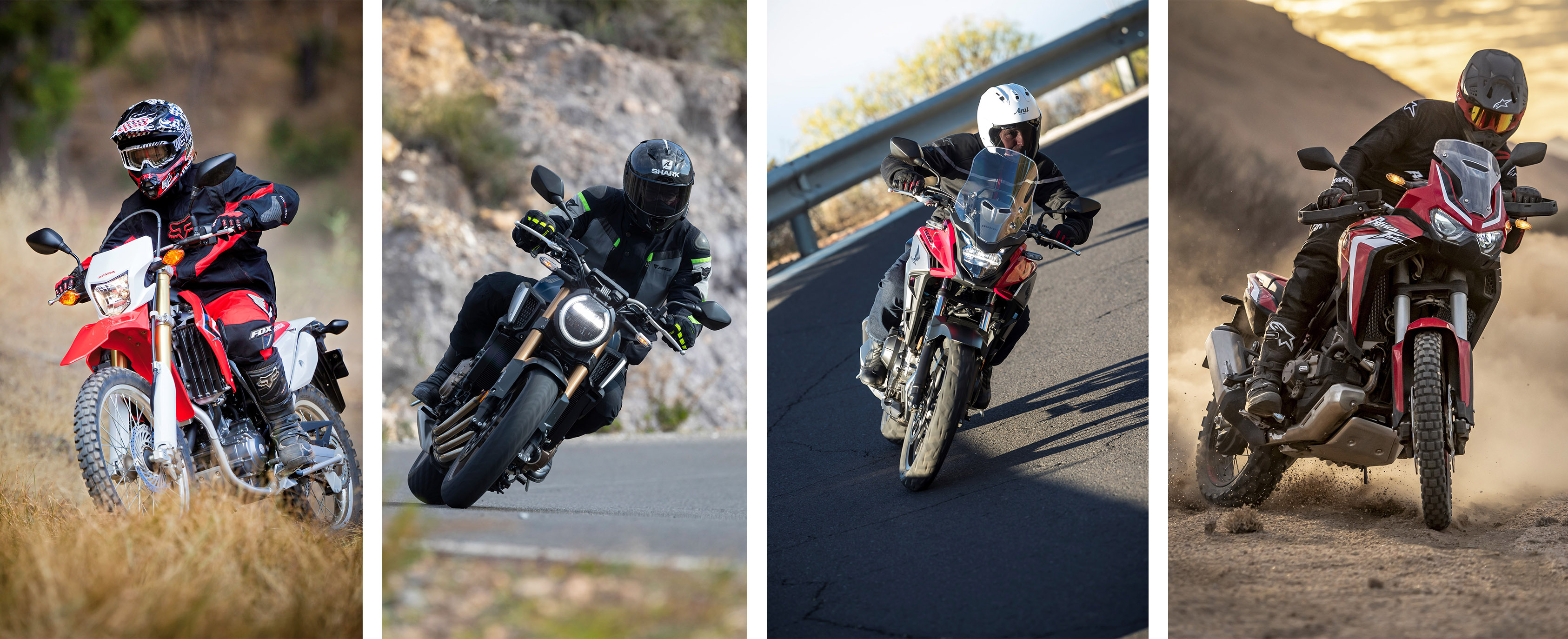 Get up to £1,000 worth of FREE clothing with your new Honda Motorcycle