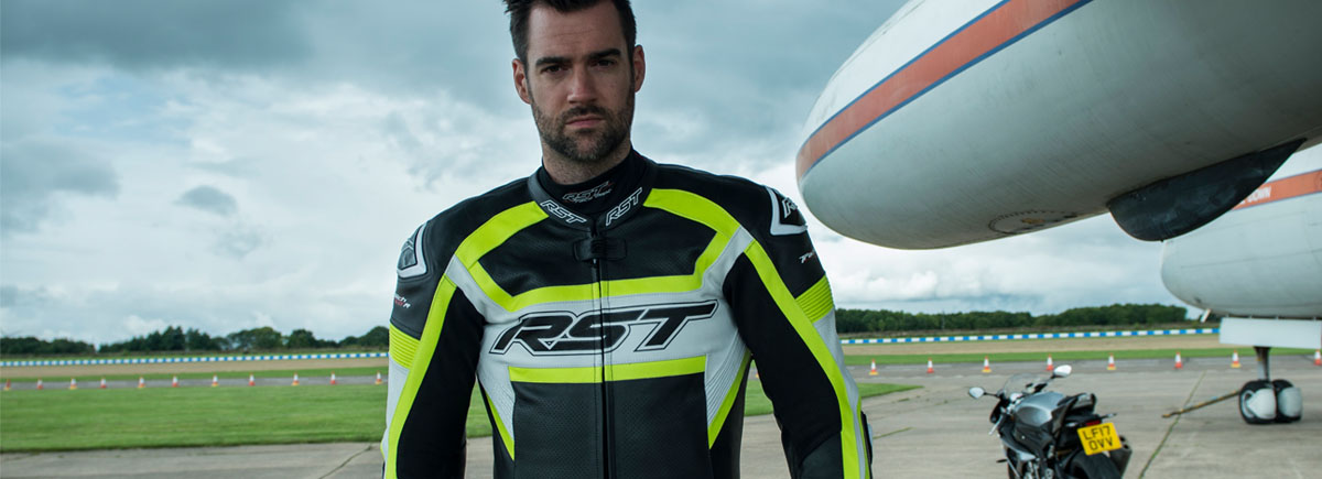 the best motorcycle jackets for sports bike riders - rst TracTech